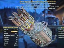 Fallout 76 - PS4 - Gatling Plasma - V/E/15V - 3 🌟🌟🌟 - Max Level 🔥🔥🔥