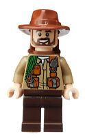 Lego Sinjin Prescott Jurassic World Minifigur Legofigur Figur Minifig jw054 Neu
