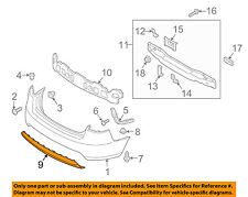 KIA OEM 10-13 Forte Rear Bumper-Lower Cover 866951M000