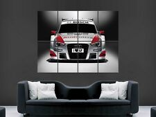 AUDI DTM RS RACING AUTO POSTER WALL ART PICTURE grande gigante