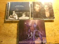 Rosenstolz [3 CD Alben] Grosse Leben +  Grosse Leben LIVE + Wir sind am Leben
