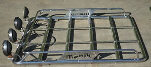 MANIK Stainless Steel Roof Racks for Hummer H2  AWESOME!