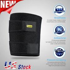 Yosoo Unisex Leg Thigh Wrap Strap Protector Compression Hamstring Brace Sleeve