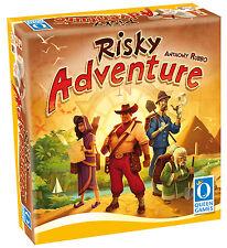 Queen Games 10191 Risky Adventure (Deutsche-Version),Familienspiel