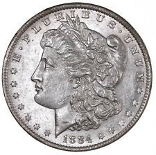 Raw 1884-O Morgan $1 Uncertified Ungraded US Mint Silver Dollar Coin