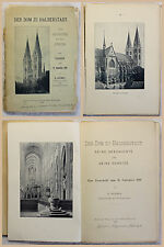 Hermes Der Dom zu Halberstadt Festschrift 1896 Geschichte Kirche Sachsen-Anhalt