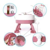 Needle Hand Knitting Machine Weaving Loom For Scraf Hat Kids Learning AU