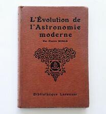 L'évolution de l'astronomie moderne, pages choisies des grands astronomes, Busco