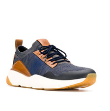 Men Cole Haan ZEROGRAND ALL DAY Blue Brown Casual Sneakers NEW