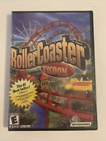 RollerCoaster Tycoon NEW Sealed 1999 InfoGrames PC