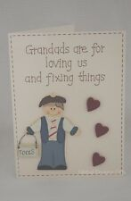 Luxury Grandads 3D Card Grandads Are For Loving Us And Fixing Things Gift F1122