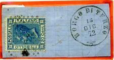 ITALIA - Regno - 1872 - Da Borgo di Terzo/Bg - Effigie di V. Emanuele II° - 20 c