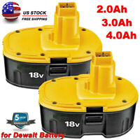 Upgraded 2.0/3.0/4.0Ah For Dewalt 18V XRP Battery DC9096 DC9098 DC9099 DW9095 US