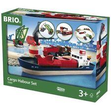 BRIO 33061 CARGO HARBOUR in legno convoglio