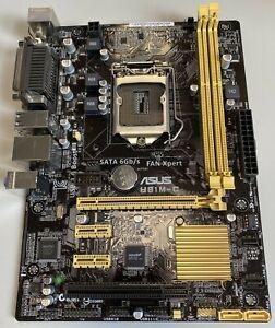 ASUS H81M-C Mainboard / LGA 1150 / Micro-ATX / Intel H81 / DDR3 / mit Zubehör!