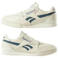 Men's Reebok Shoes PHASE 1 PRO Tennis  Classic White Trainers DV3794 Size 12 UK