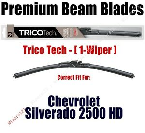 Wiper 1-pk Premium Beam Wiper fits 2014+ Chevrolet Silverado 2500 HD - 19220