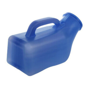 Home Urinal Potty Thick &Men Urinal Pee Bottles Firm Urine Bottle with Lid1L FD8