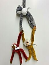 3 off Magnetic Monkey Soft Toys, Hang Them on the Fridge, Great Fun!