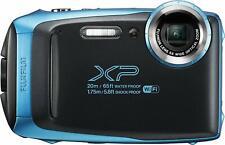 Fujifilm XP130 Action Camera Fuji Sky Blue Wifi Waterproof Dustproof Shockproof