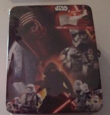 NEW Neat-Oh! Star Wars  Matchbox Vehicle Storage Tin Playset Collection Box 85.1