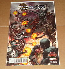 Age of Ultron vs Marvel Zombies #1 Rock He Kim Variant Edition 1st Print