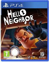 NEW & SEALED! Hello Neighbor Sony Playstation 4 PS4 Game
