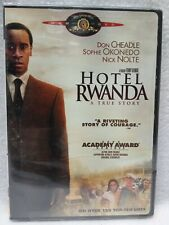 Hotel Rwanda Dvd media Widescreen featuring Don Cheadle - Brand New sealed