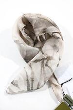 Carlos Miele Multi-Color Abstract Print Silk Handkerchief Scarf New