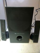 - ALTEC LANSING VS4121 2.1 Powered Computer Speakers with Subwoofer  TESTED
