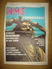 NME 1986 JUL 26 ZODIAC WARPWIND SID NANCY JOE STRUMMER