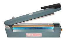 """Impulse Sealer & Cutter 12"""" (300) Heavy Duty Aluminum Manual Heat Plastic Films"""