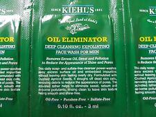 Brand New KIEHL'S OIL ELIMINATOR deep cleansing exfoliating face wash for men