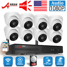 8CH 1080P HD Wireless Security IP Camera System CCTV 2MP NVR HDMI Outdoor Set US