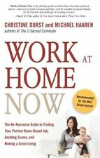 Work at Home Now by Michael Haaren and Christine Durst (2009, Paperback)