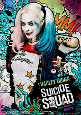 SUICIDE SQUAD - HARLEY QUINN MOVIE POSTER PRINT - WALL ART - BUY 2 GET 1 FREE
