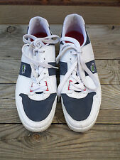 Lacoste White/Blue Sneakers Shoes Men's 12