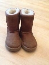 UGG Australia Suede Boots Medium Width Shoes for Girls