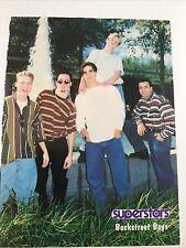 Vintage 90s' Pinup Backstreet Boys Power Rangers Boyz II Men Teen Pin-Up Color