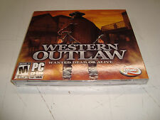 WESTERN OUTLAW WANTED DEAD OR ALIVE (2001) PC CD-ROM NEW & FACTORY SEALED