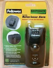 Fellowes Portable Motion Sensor Alarm - Notebook Computer Anti Theft Device NEW