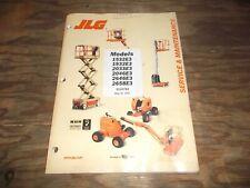 JLG 1532E3 1932E3 2033E3 Scissor Lift Aerial Boom Shop Service Repair Manual