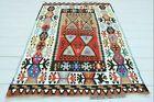 Turkish Adana Small Kilim  DoorMat  Tapis Small Kelim Rug Bedroom 42 X57  Carpet