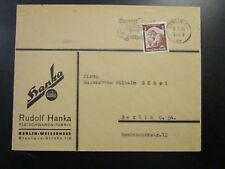 Germany SC# 448 on 1935 Commercial Cover to Berlin  - Z6731