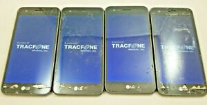 Lot of 8 - Google Locked LG Rebel 3 LTE CDMA L158VL Tracfone Cracked Good