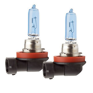PIAA 19665 H9 XTreme White Plus Twin Pack Replacement Halogen Bulbs 65W=120W