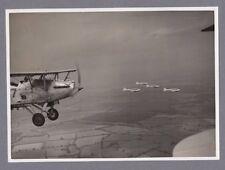 HAWKER HIND RAF 57 SQN & AVRO ANSON 224 SQN ORIGINAL VINTAGE PRESS PHOTO RAF