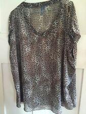 Chiffon Animal Print Tops & Blouses for Women