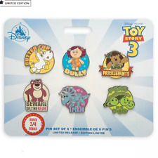 Official Disney Toy Story 3 Limited Edition Pin Set
