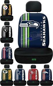 NFL Licensed Team Logo Printed Car Seat Cover